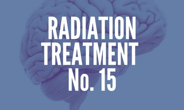 Brain Tumor Radiation Treatment No. 15