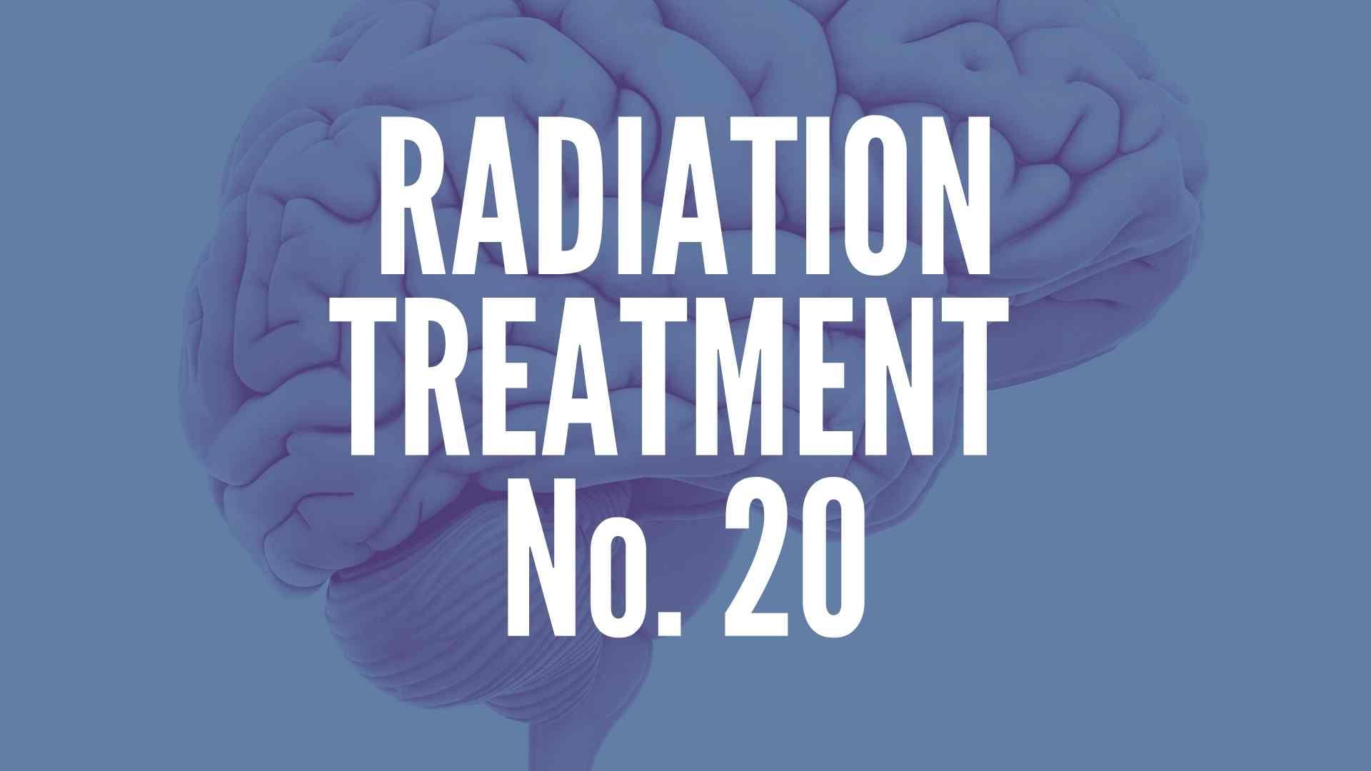 Brain Tumor Radiation Treatment 20