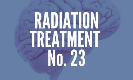 Radiation Treatment #23