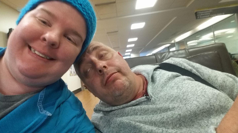 radiation treatment selfie