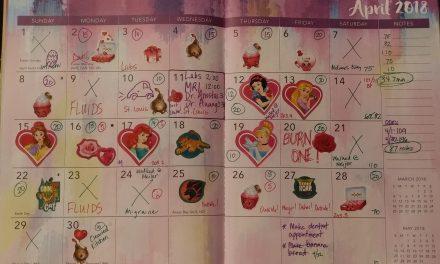 Emily's Cancer Calendar: April