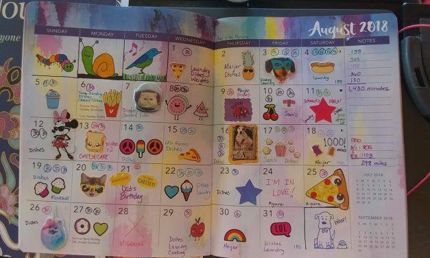 Emily's Cancer Calendar: August