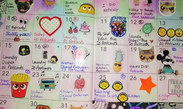 Emily's Cancer Calendar: October