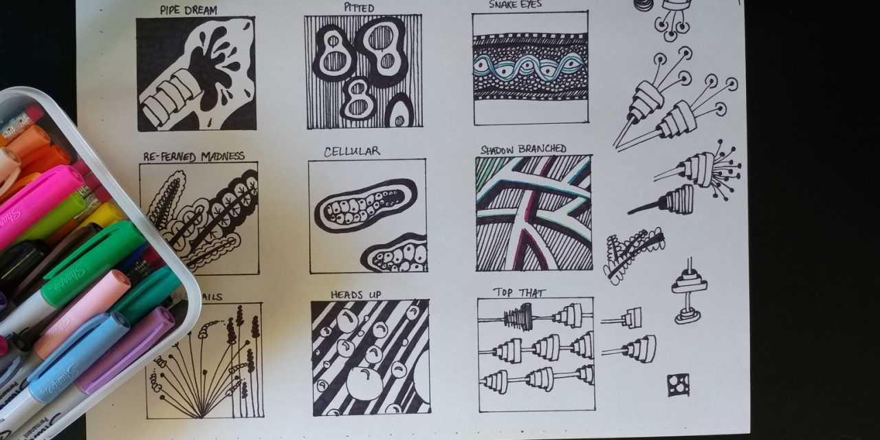 Zentangle Inspired Doodles