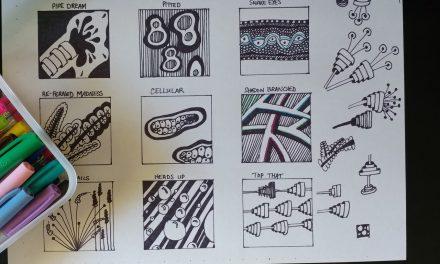 Zentangle Inspired Doodles