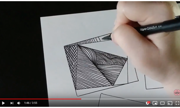 Freestyle Zentangle