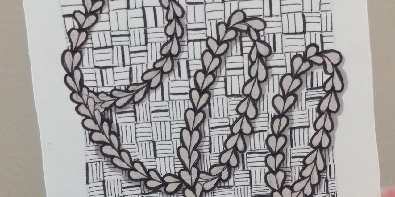 VIDEO: One Zentangle a Day – Day 37