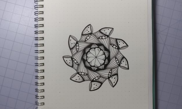 VIDEO: One Zentangle a Day – Day 35