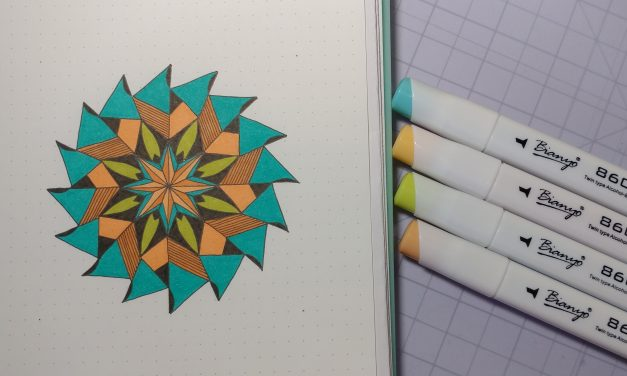 VIDEO: One Zentangle a Day – Day 34