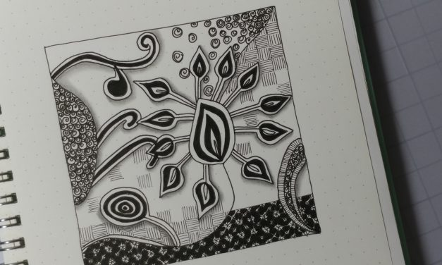 VIDEO: One Zentangle a Day – Day 30