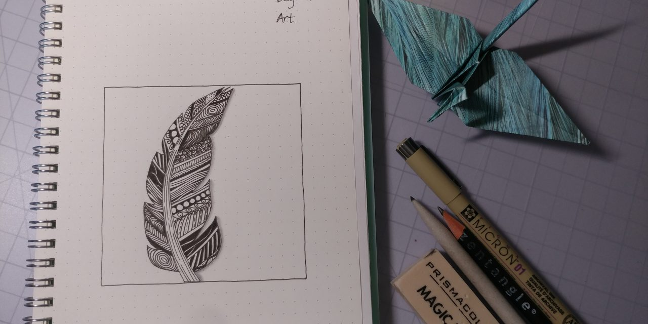 VIDEO: One Zentangle a Day – Day 29