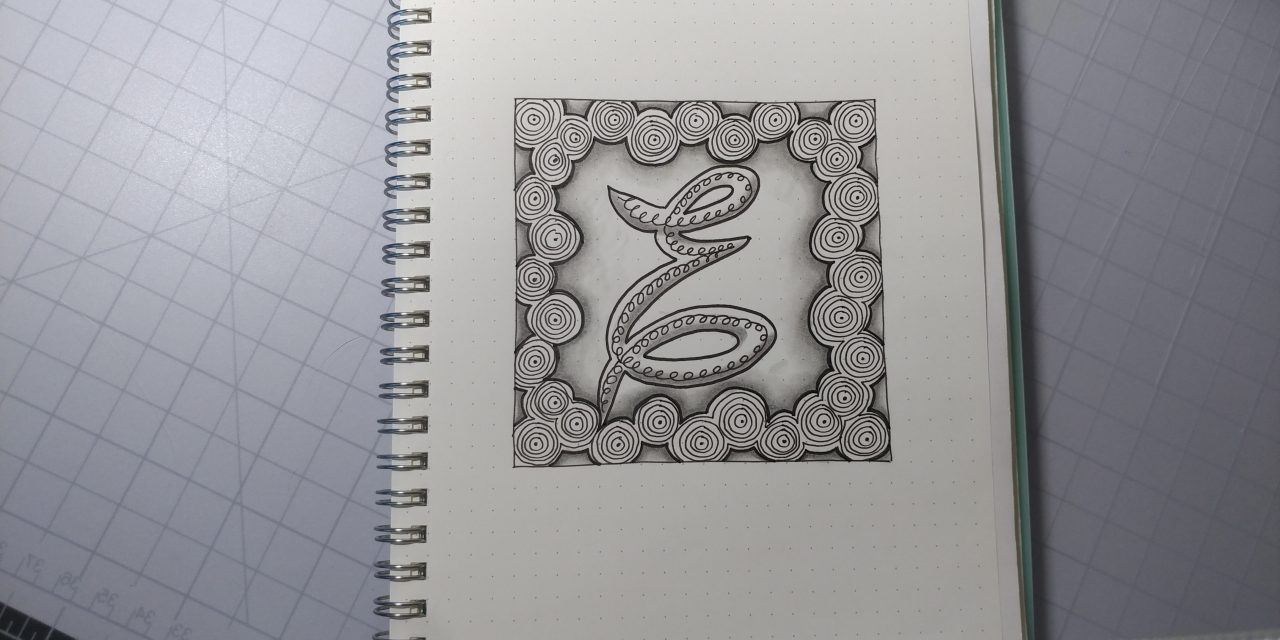 VIDEO: One Zentangle a Day – Day 28