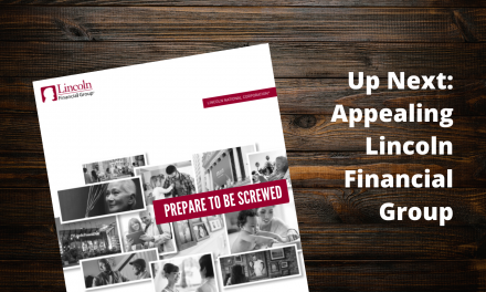 Next Steps: Appealing Lincoln Financial Group
