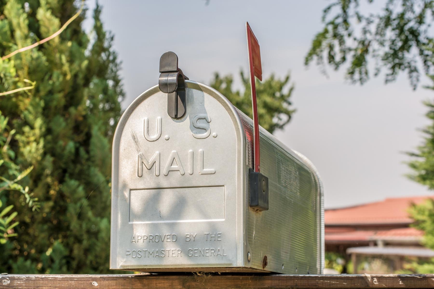 Checking the mailbox