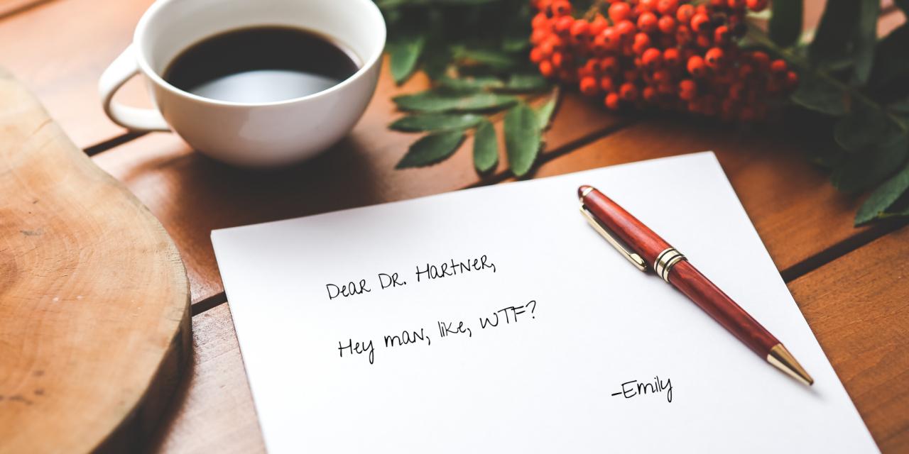 Open Letter to Dr. Lee Hartner, Oncologist