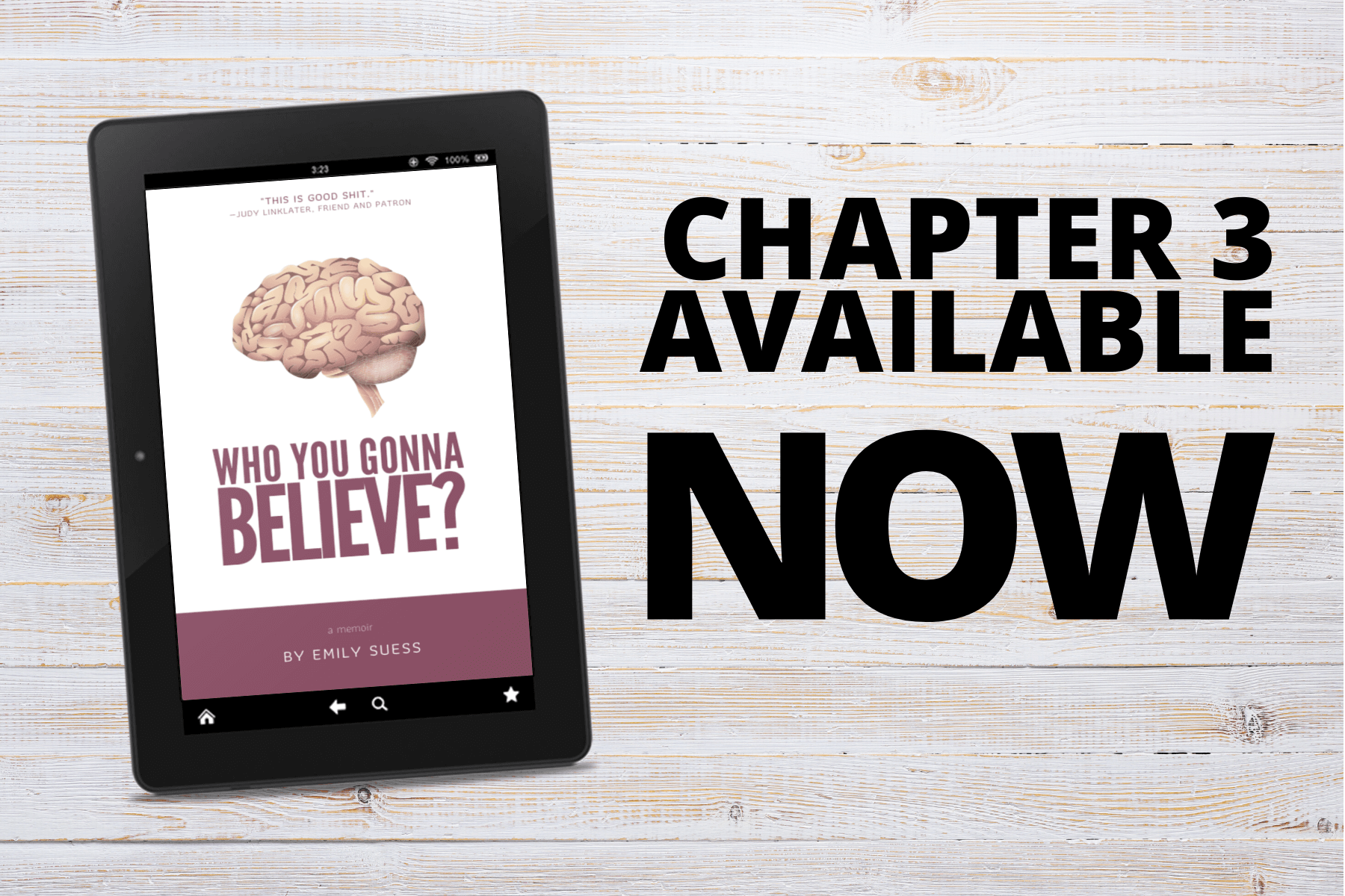 Who You Gonna Believe Chapter 3 Now Available on Patreon