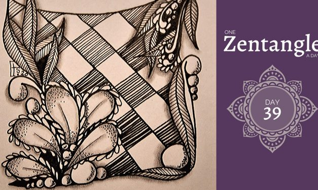 One Zentangle a Day – Day 39