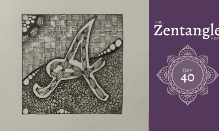 One Zentangle a Day – Day 40