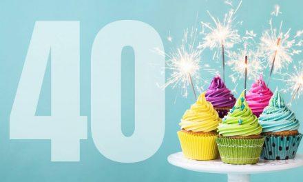 Help Me Celebrate My 40th Birthday