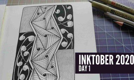 It's Inktober! Zentangle With Me!