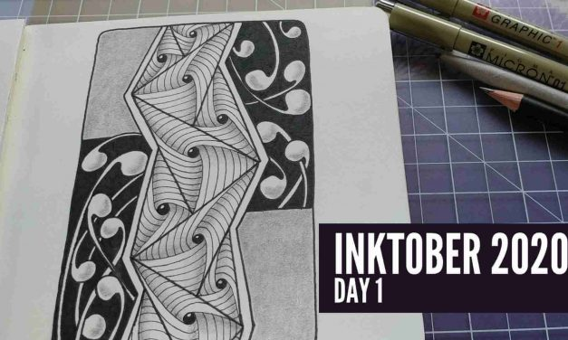 It's Inktober! Zentangle With Me!