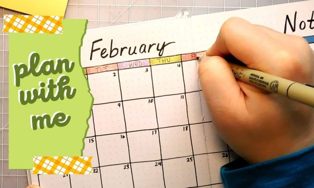 Bullet Journal: Plan with Me February 2021